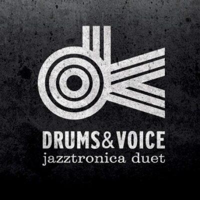 Drums Voice Jazztronica Duet logo black